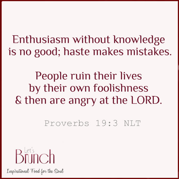 Enthusiasm-without-knowledge